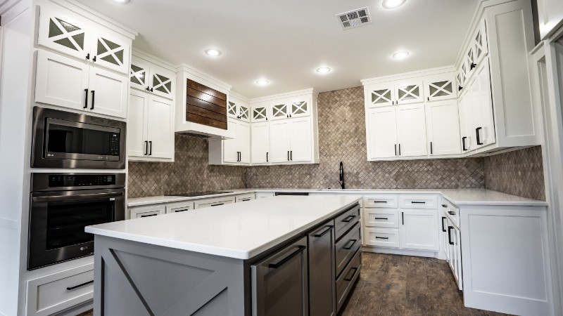 Colosseum Quartz Kitchen